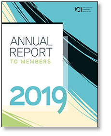 2019 ICI Annual Report to Members